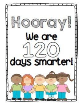 120 days smarter clipart clipart freeuse stock 120 Days of School Activities Packet clipart freeuse stock