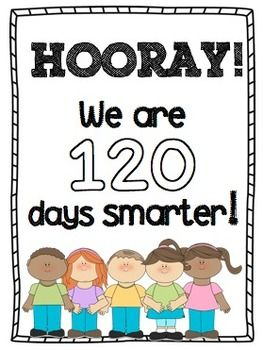 120 days smarter clipart