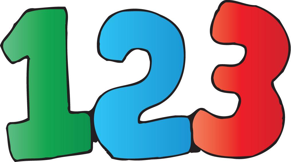 123 png clipart graphic transparent Free Picture Of Numbers, Download Free Clip Art, Free Clip Art on ... graphic transparent