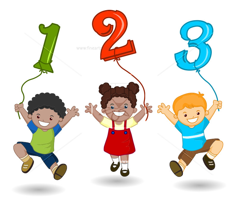 123 png clipart clipart freeuse download Cartoon Kids Holding 123 Numbers | Free vectors, illustrations ... clipart freeuse download
