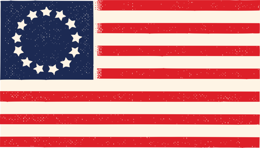 13 colonies flag clipart free United States Flag 13 Colonies - Best Picture Of Flag Imagesco.Org free