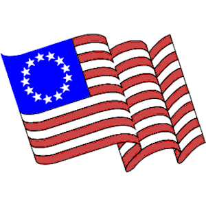 13 colonies flag clipart