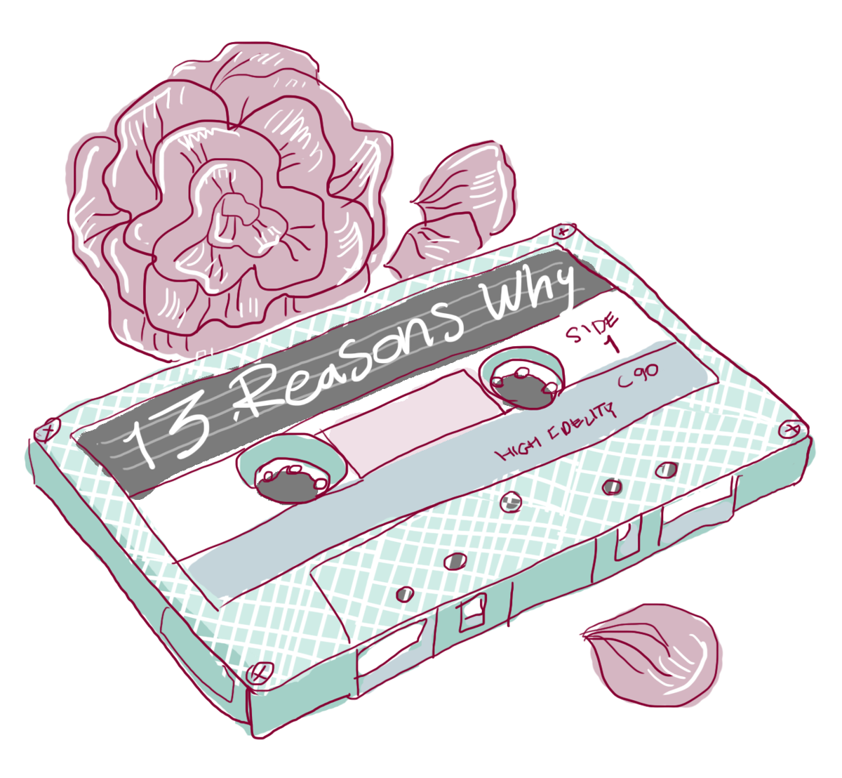 13 reasons why clipart picture freeuse download Readers rejoice for the successful adaption of \'13 Reasons Why ... picture freeuse download