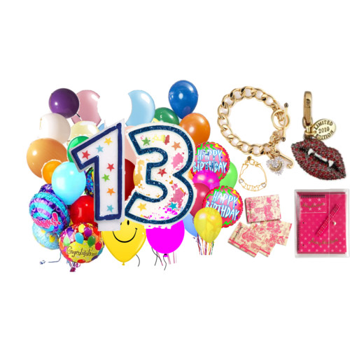 13th birthday clipart