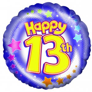 13th birthday clipart vector black and white library Free 13 Birthday Cliparts, Download Free Clip Art, Free Clip Art on ... vector black and white library