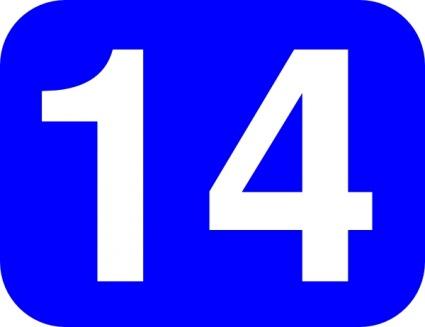 14 clipart clip art stock Number 14 Cliparts - Cliparts Zone clip art stock