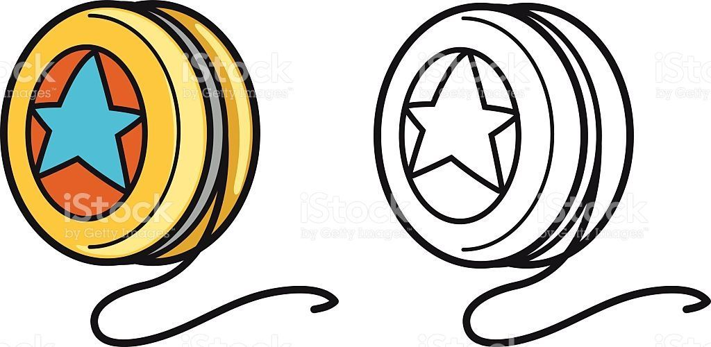 14 clipart black and white freeuse download Yoyo clipart black and white 14 » Clipart Portal freeuse download