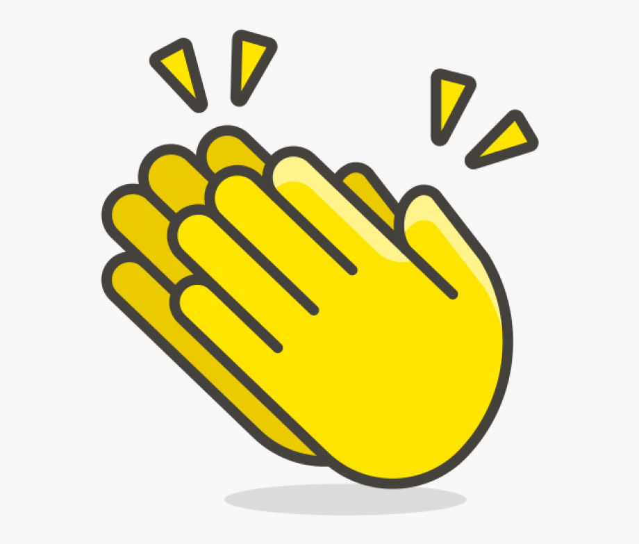 146 52 clipart vector free stock Clapping Hands Clip Art - Animated Clap Hand Emoji #521950 - Free ... vector free stock