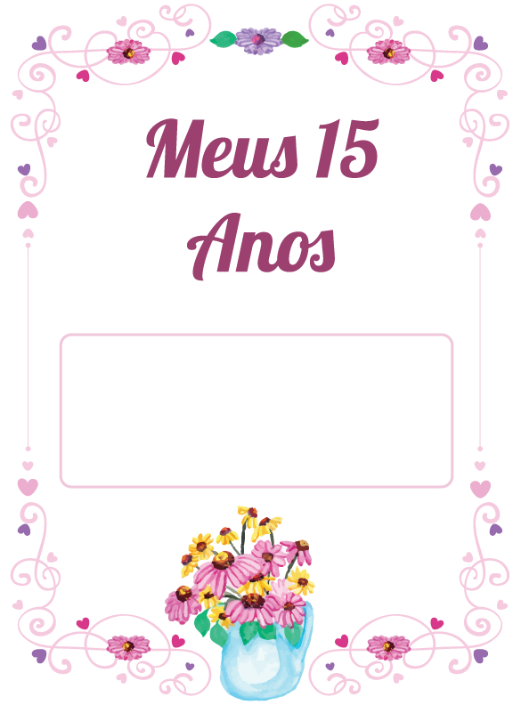 15 anos clipart png freeuse library Convites de aniversario de 15 anos clipart images gallery for free ... png freeuse library