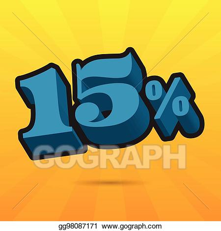 15 off clipart in green svg library stock Vector Stock - Font up to 15% off. vector illustration. sale banner ... svg library stock