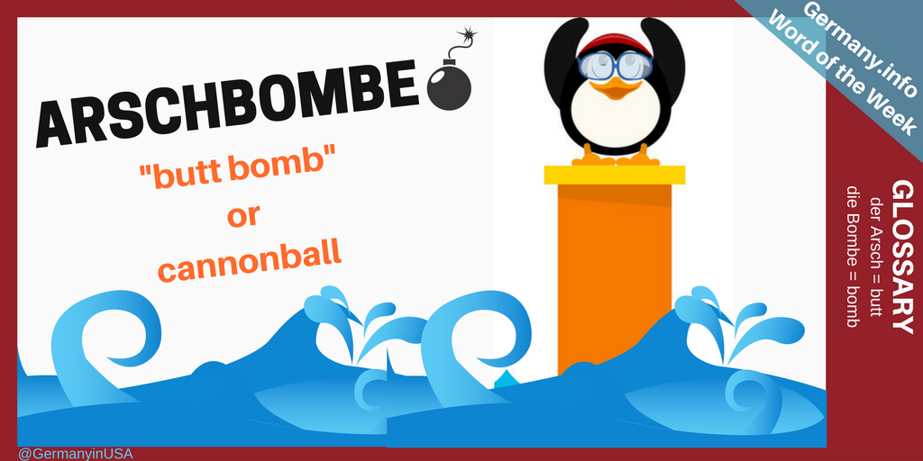 1500s cannon ball clipart freeuse library The German Embassy in Washington, DC — Word of the Week: Arschbombe freeuse library