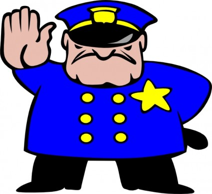152 clipart vector freeuse library Police Man clip art. svg 152   Clipart Panda - Free Clipart Images vector freeuse library