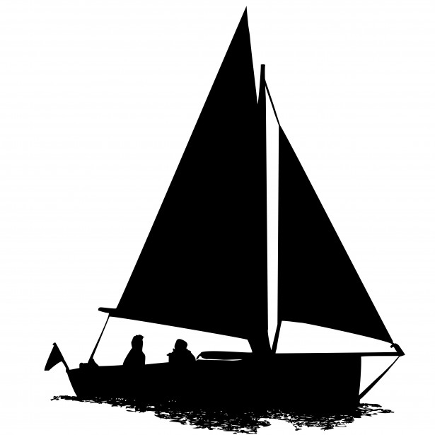 Boat clipart in piblic domain