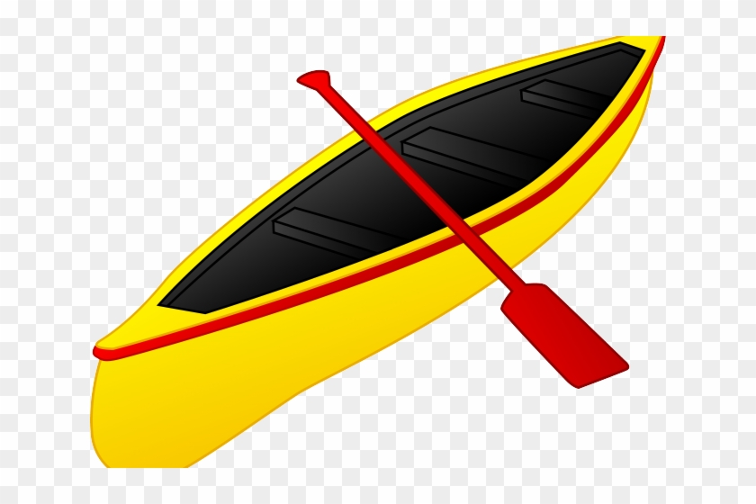 16 foot boat clipart graphic royalty free Kayak Clipart Yellow Boat - Clipart Canoeing Png, Transparent Png ... graphic royalty free