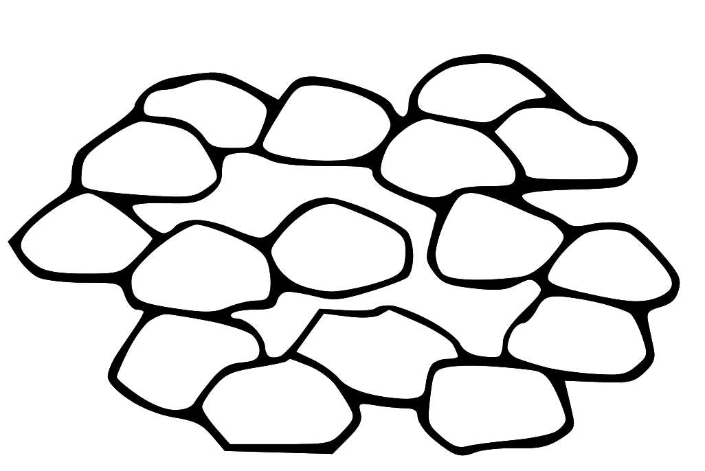 Clipart pterodactyl pile black and white