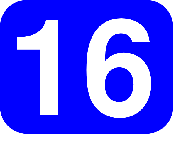 16 year old clipart jpg download Blue Rounded Rectangle With Number 16 Clip Art at Clker.com - vector ... jpg download