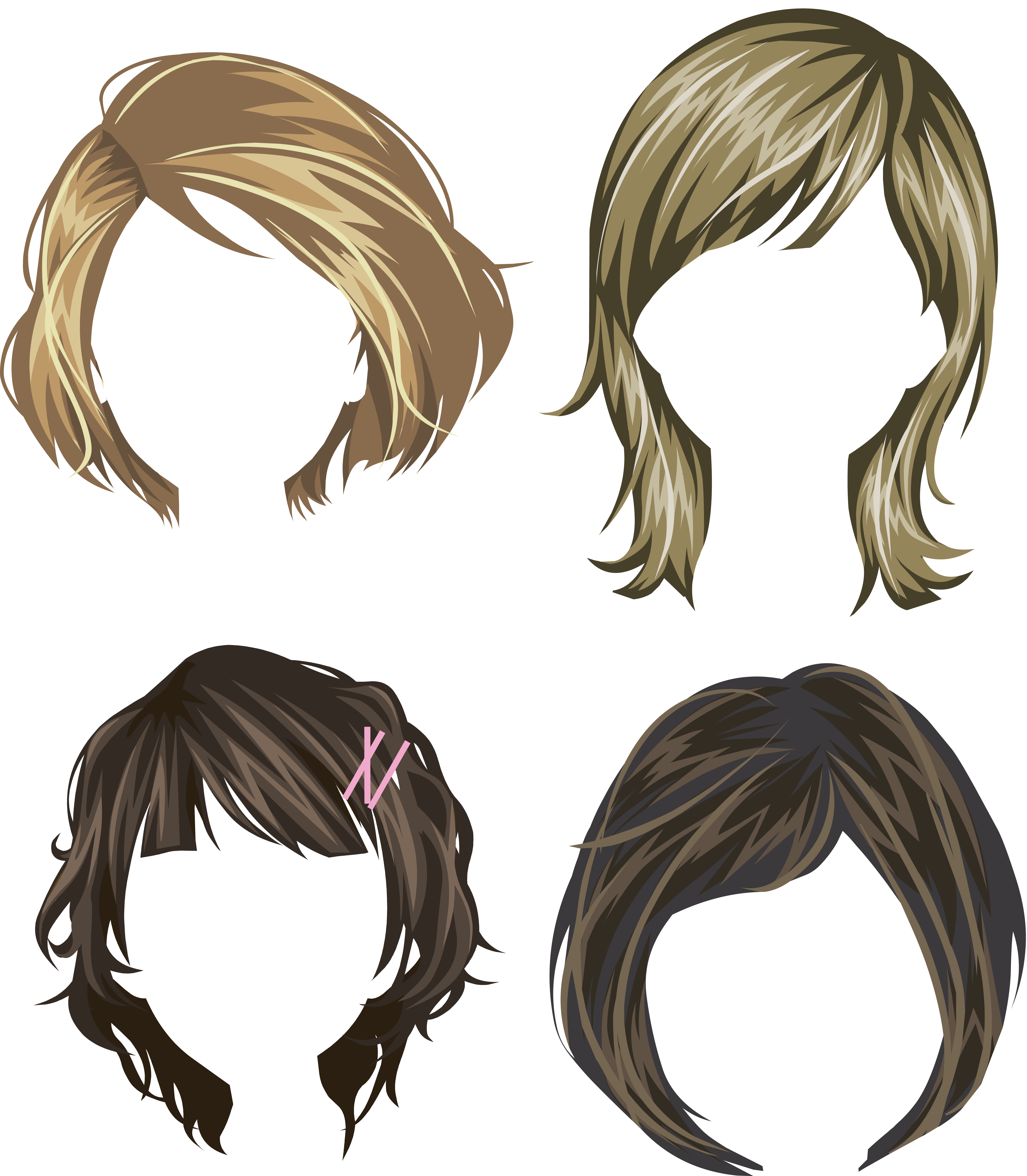 17 century wig clipart png svg free Hair wig PNG svg free