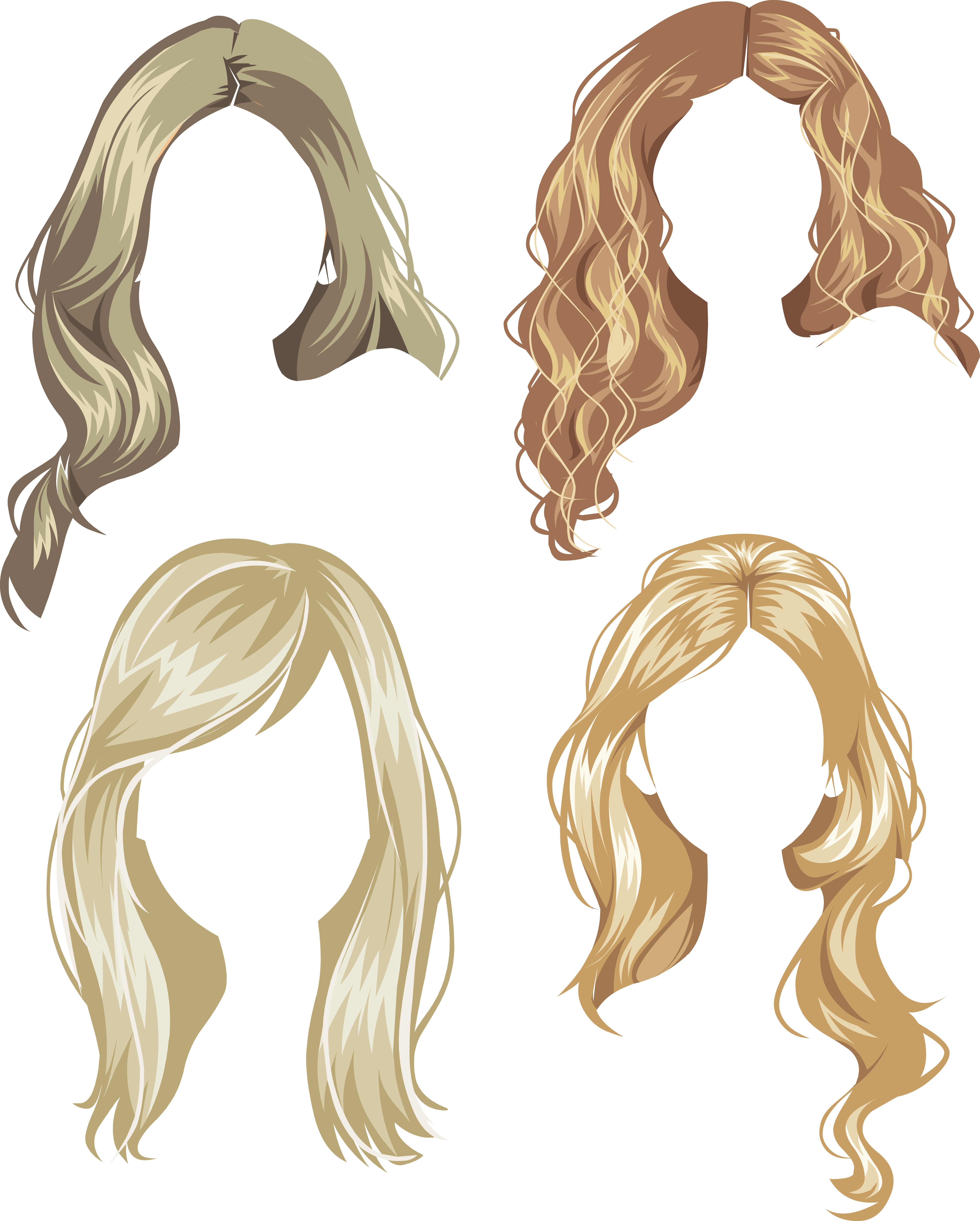 17 century wig clipart png clip download Hair wig PNG clip download