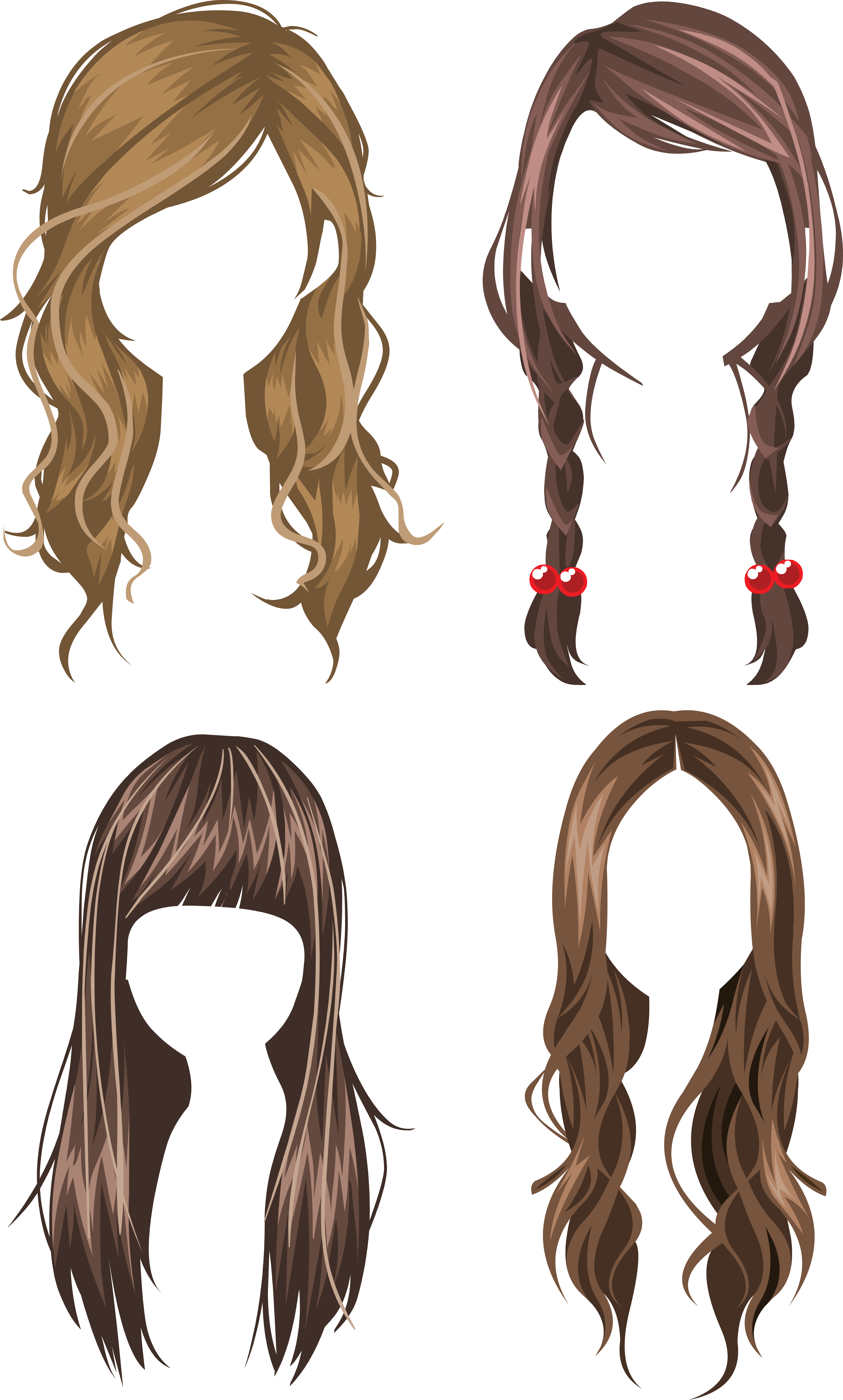 17 century wig clipart png svg free download Hair wig PNG svg free download