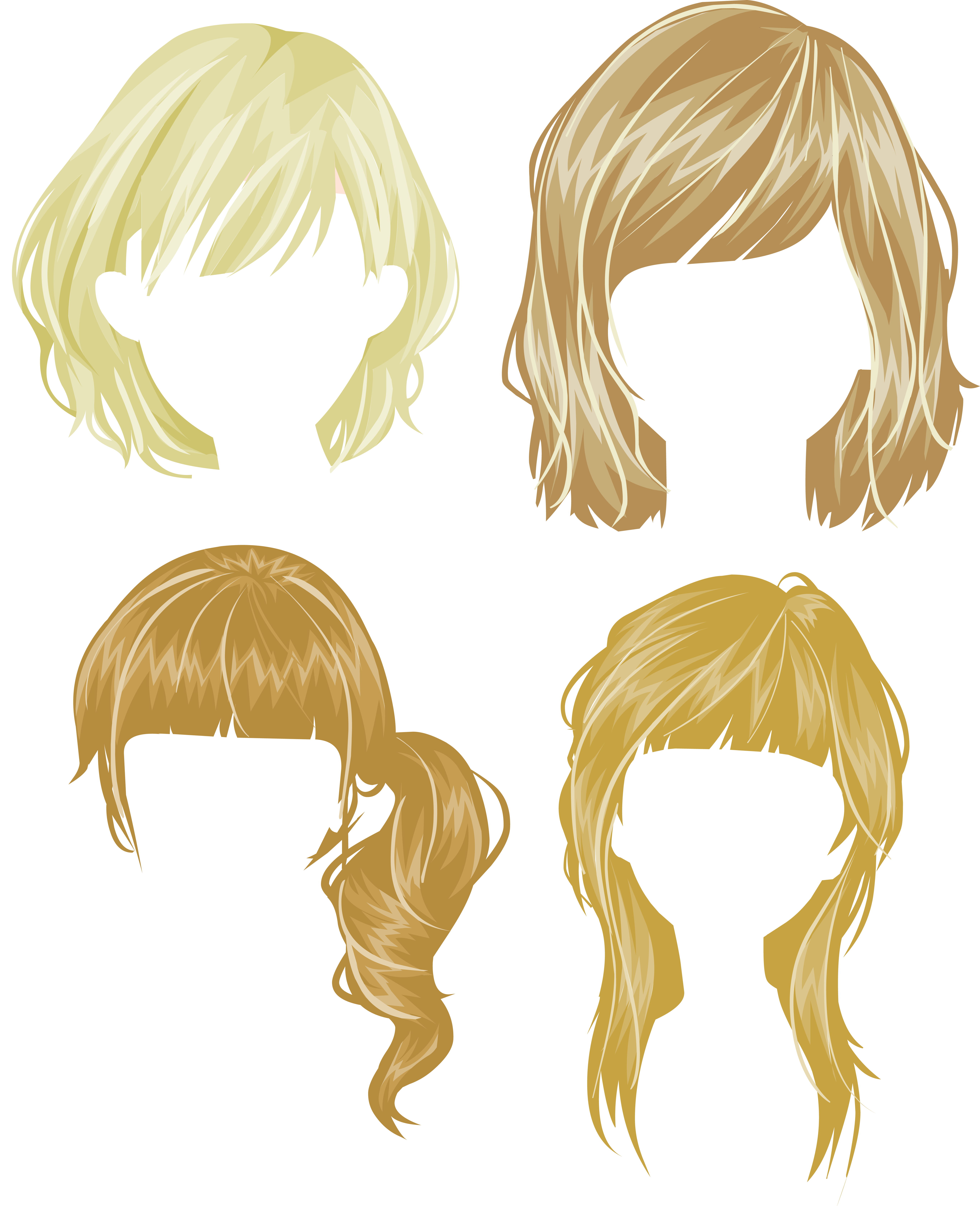 17 century wig clipart png png library download Hair wig PNG png library download