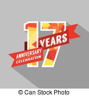 17th anniversary clipart svg download Happy 17th anniversary celebration Clip Art Vector Graphics. 62 ... svg download
