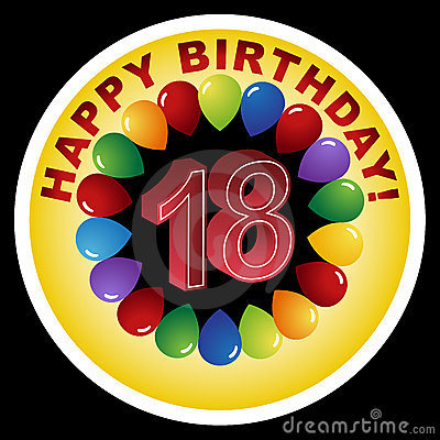 18 anni clipart svg black and white download Happy 30th Birthday! Royalty Free Stock Image - Image: 15159406 svg black and white download