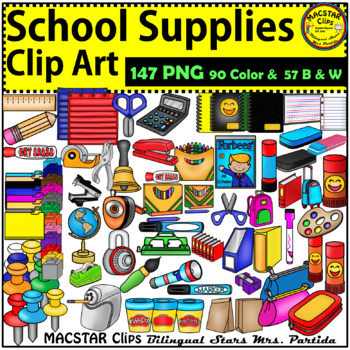 18 long hours clipart image free stock School Classroom Supplies Clip Art image free stock