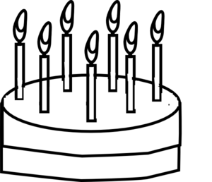 18 outline clipart clipart Cake Outline Clip Art at Clker.com - vector clip art online ... clipart