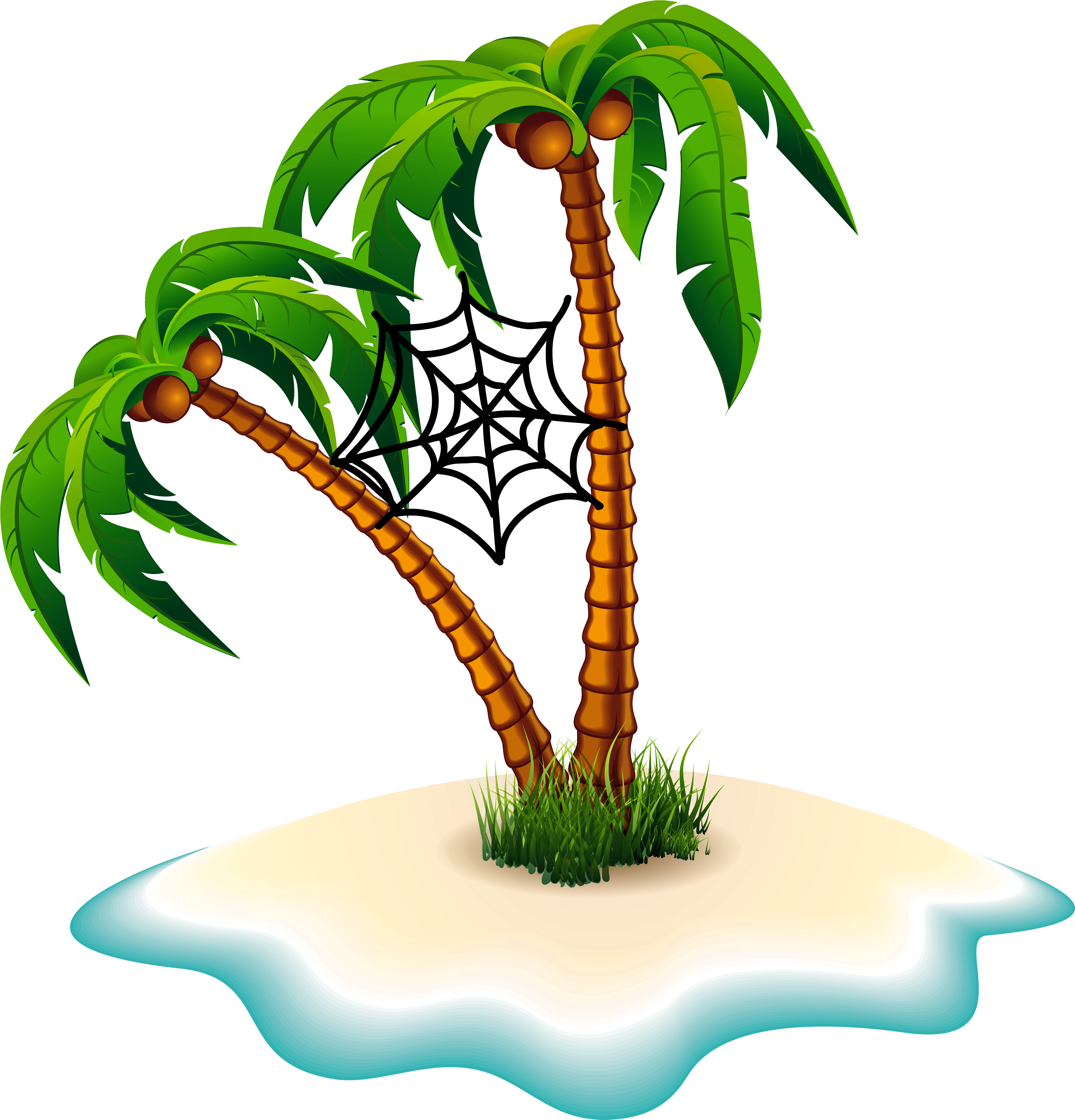 18 trees clipart clipart free stock Palm trees Clip art Portable Network Graphics Transparency Image ... clipart free stock