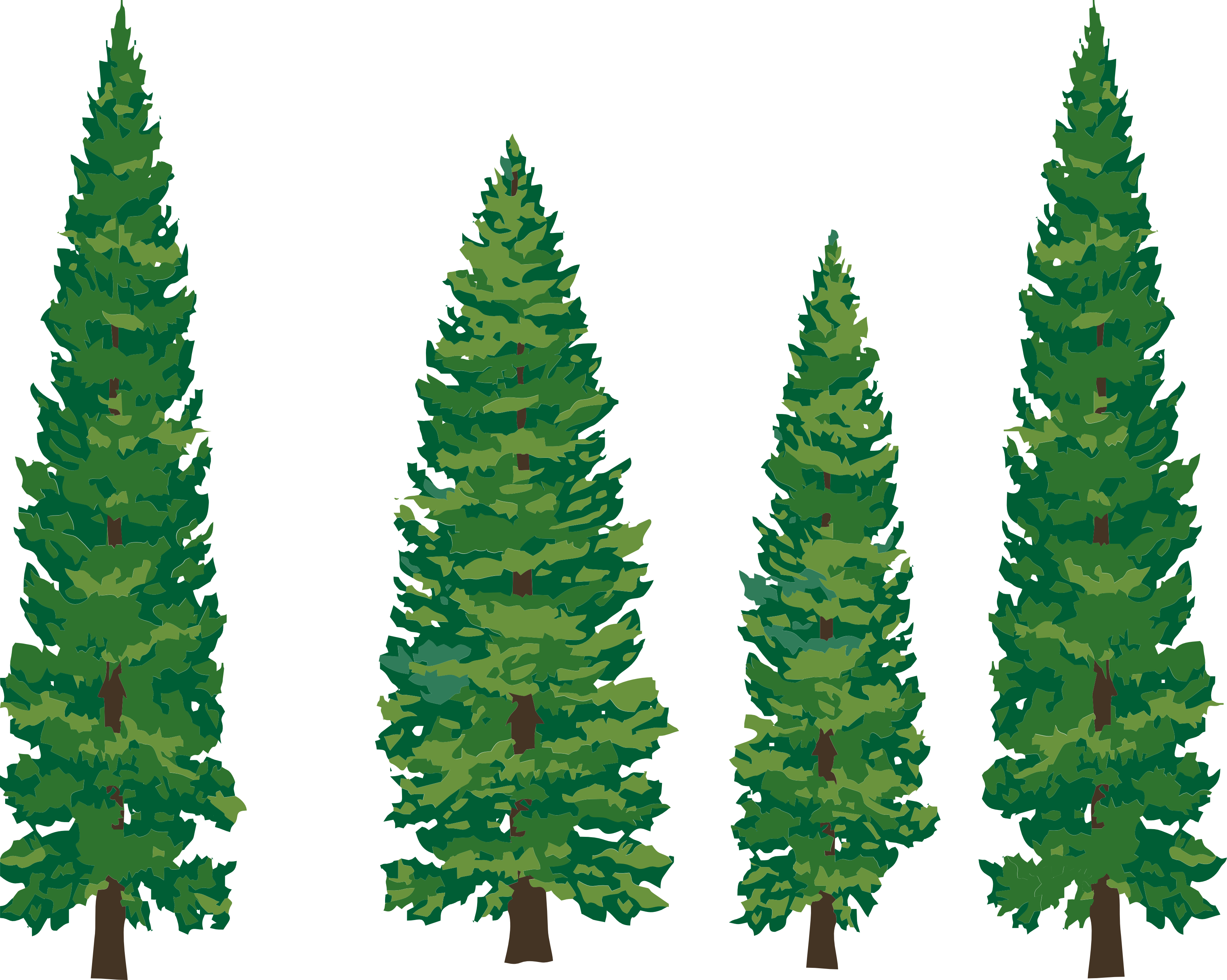 18 trees clipart svg royalty free 18+ Trees Clipart   ClipartLook svg royalty free