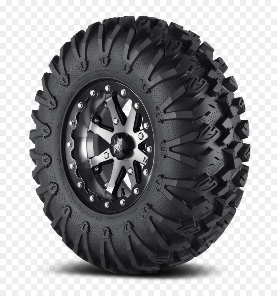 Side by side tire tread clipart