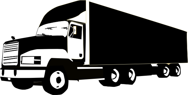 clipartfest truck at. 18 wheeler clip art