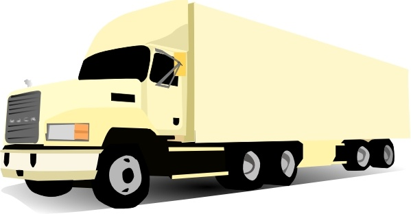 18 wheeler clipart free graphic free library 18 Wheeler Truck clip art Free vector in Open office drawing svg ... graphic free library