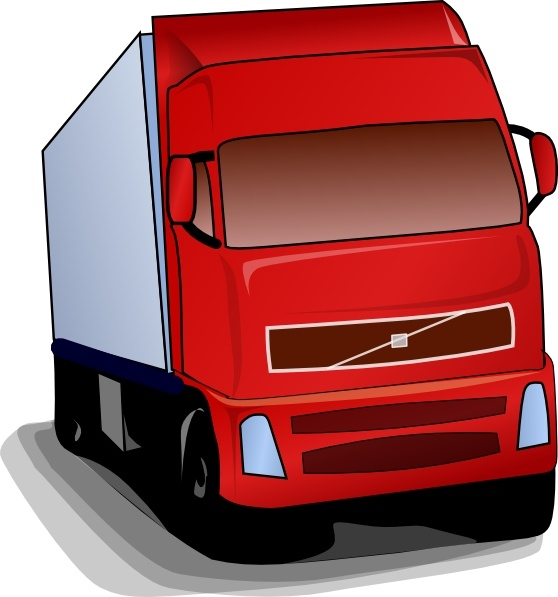 Free 18 wheeler clipart clipart free stock Truck 18 Wheeler clip art Free vector in Open office drawing svg ... clipart free stock