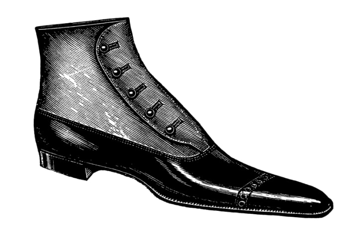 1800s shoe clipart picture royalty free download 15 Incredible Shoe Styles History Has Forgotten | Mental Floss picture royalty free download