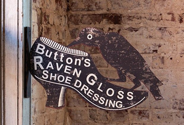 1800s shoe clipart image library stock 1800\'s Advertisement – Raven Shoe Dressing Clip Art | Projects to ... image library stock