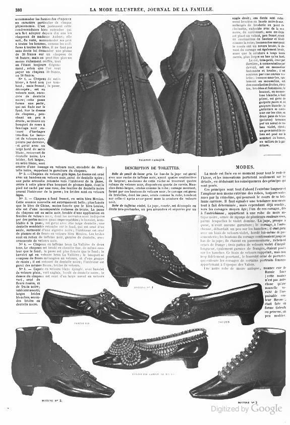 1800s shoe clipart svg library 1862 La Mode Illustree. Shoes and boots. | 1840 en 2019 | Victorian ... svg library