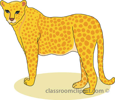 Cheetahs clipart vector black and white stock Cheetah Outline Hits: 1849 | Clipart Panda - Free Clipart Images vector black and white stock