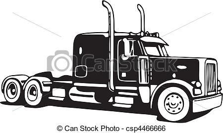 18wheeler clipart top view jpg freeuse 18 Wheeler Drawings | 18 Wheeler Drawing Illustration, drawings ... jpg freeuse