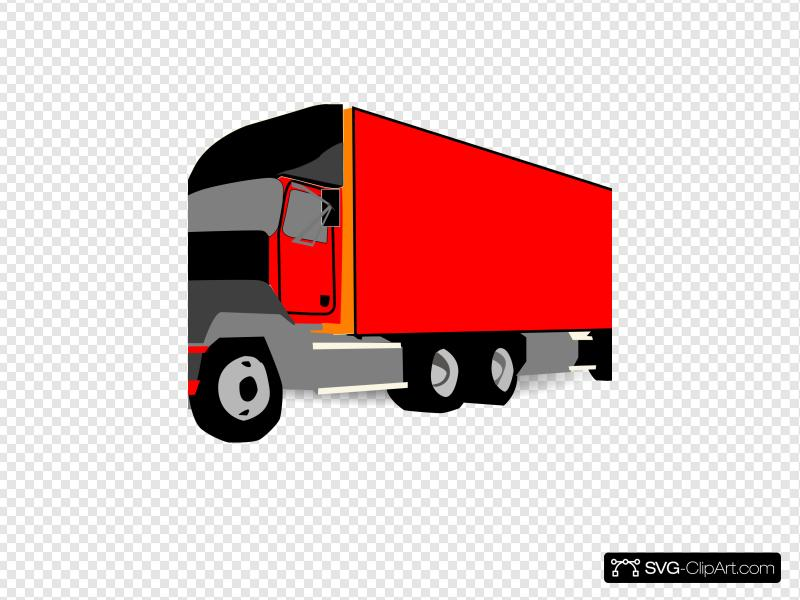 18wheeler clipart top view png royalty free stock Truck 18 Wheeler Trucker Clip art, Icon and SVG - SVG Clipart png royalty free stock