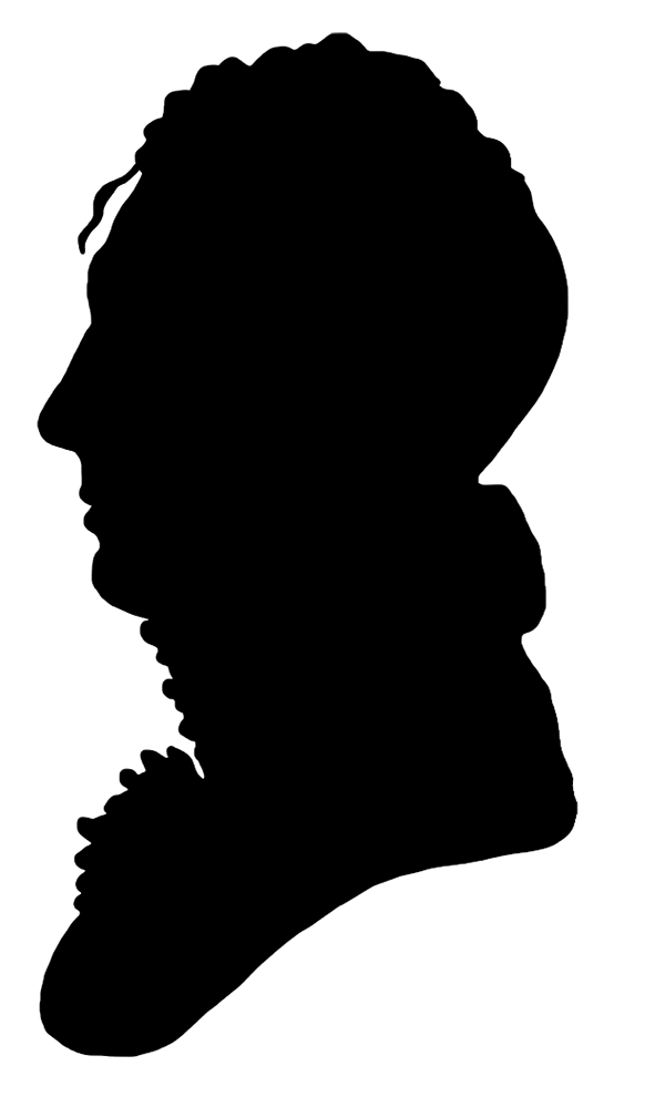 19 century men clipart vector stock Victorian Silhouette Clipart vector stock