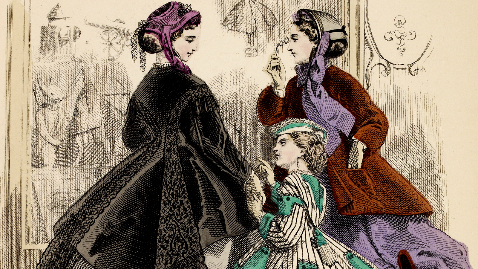 19 century women clipart banner Victorian Woman Drawing at PaintingValley.com | Explore collection ... banner