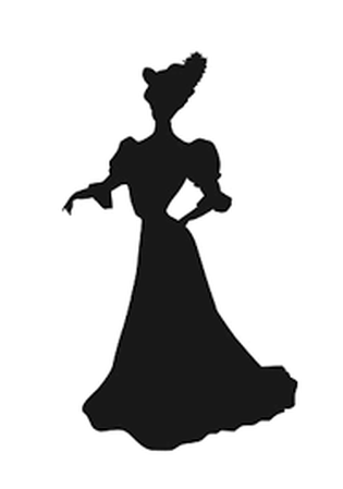 1900s silhouette clipart clip black and white library DEFINE SILHOUETTE - MRS. HUTCHINGS CLASSROOM clip black and white library