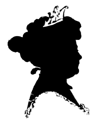1900s silhouette clipart vector royalty free download Vintage Silhouette Graphics - Ladies with Hats & Crown - The ... vector royalty free download