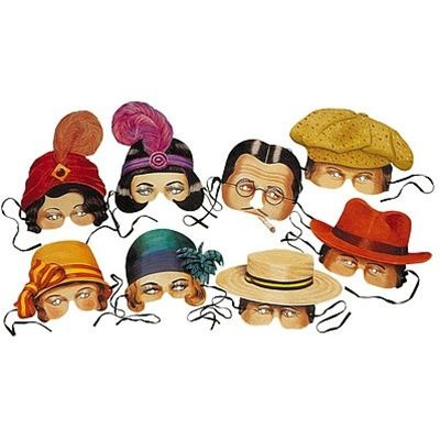 1920s masks clipart free library Roaring 20s Costume Party Masks. Maybe have on hand for guests that ... free library