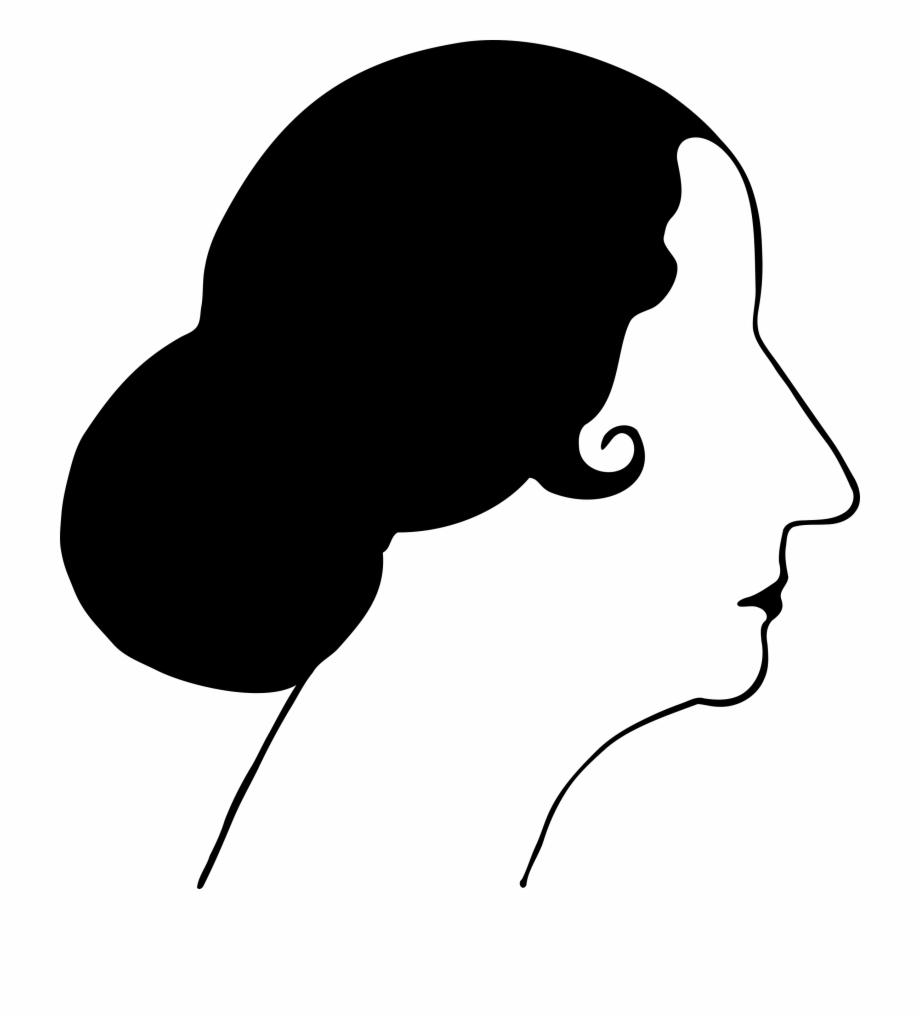 1920s masks clipart transparent stock Flapper Silhouette Clip Art - Woman Face Profile Vector, Transparent ... transparent stock