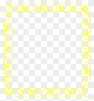 1920s scallop border clipart clip royalty free stock Free PNG Yellow Border Clip Art Download - PinClipart clip royalty free stock