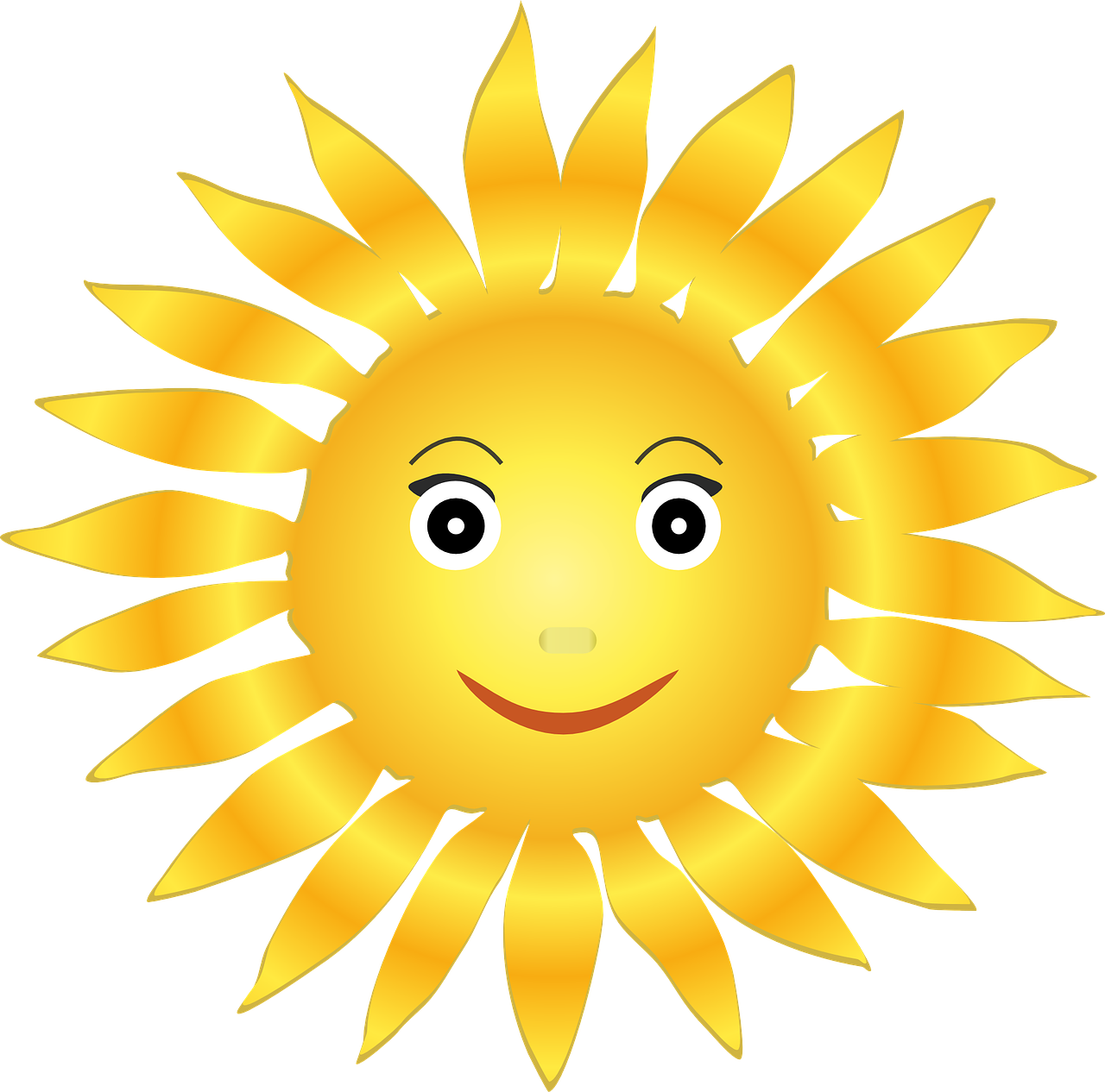 Sun clipart with 22 rays clip download Sunscreens Explained | clip download