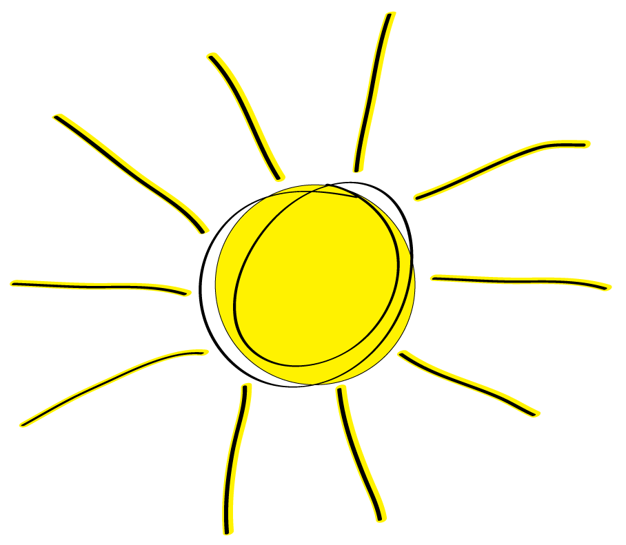 Sun clipart no background freeuse library Sunshine Half Sun Clipart 2 freeuse library