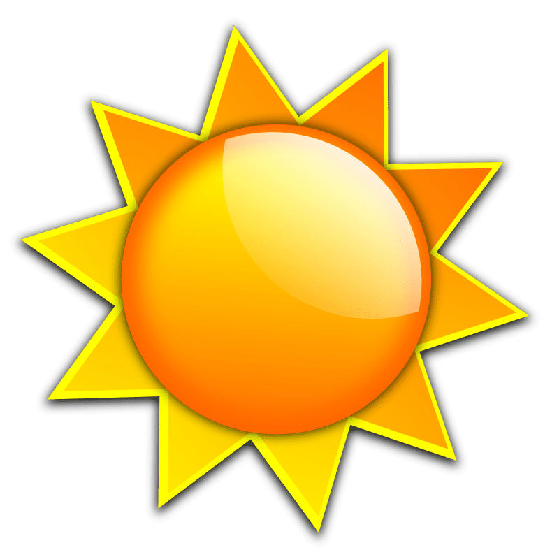 Sun reading clipart jpg black and white library Free Sun Clip Art to Brighten Your Day jpg black and white library